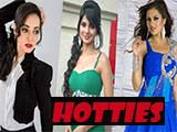 Top 5 Hot women on television